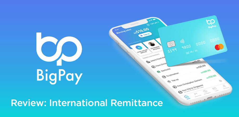 BigPay International Remittance Review